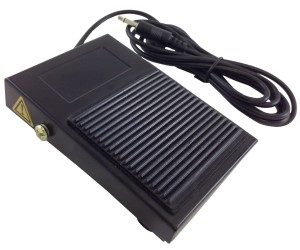 Fs-2 Black Steel StealthSwitch3 Slave Switch Foot Pedal